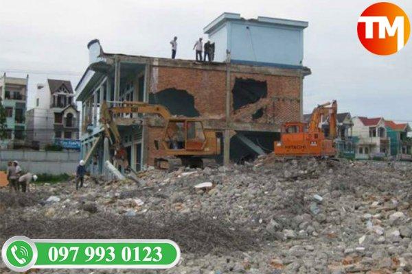 Quy trình thu mua xác nhà cũ tại Long An